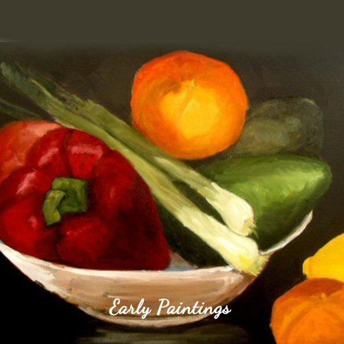 Veg Bowl - Early Painting